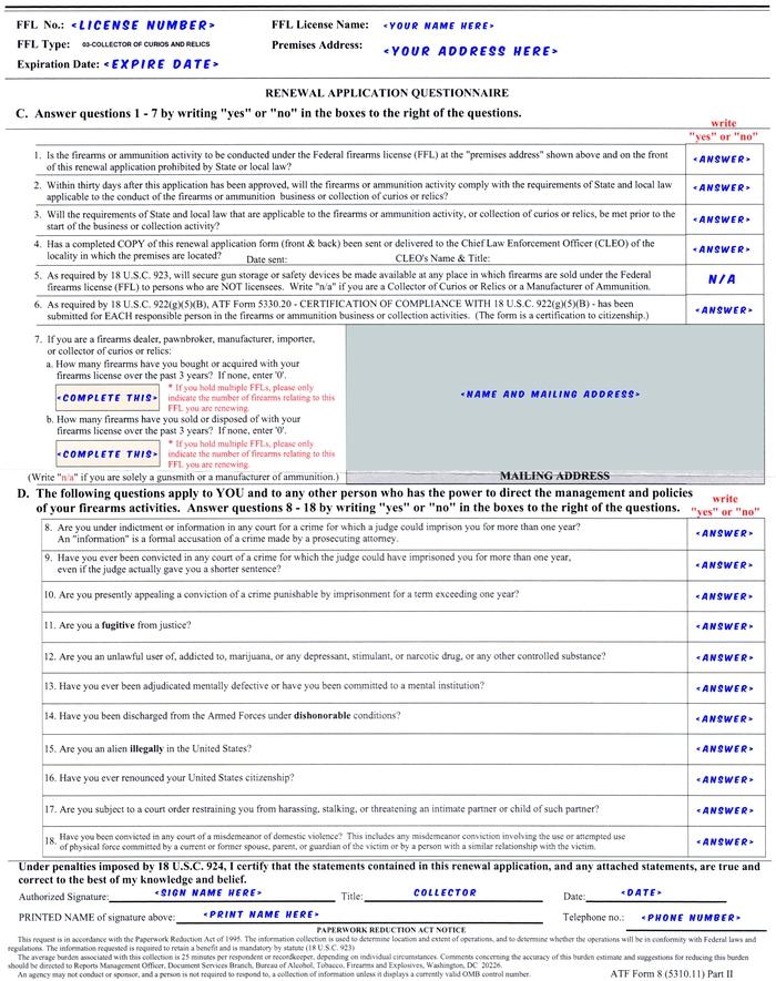 Getting A Cr Ffl 03 License
