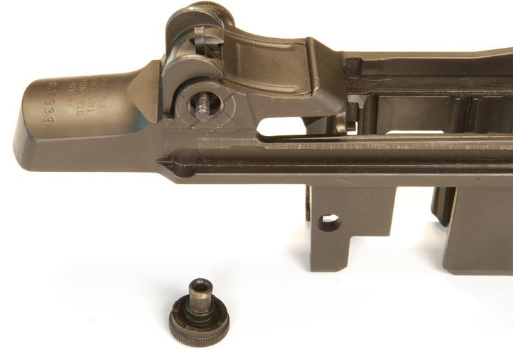 Disassemble the M1 Garand